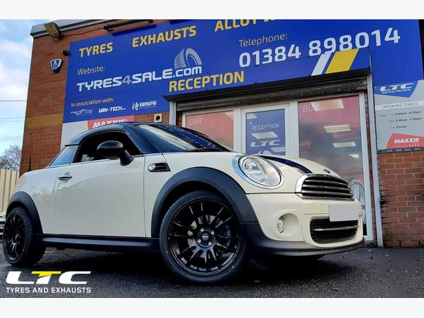 Calibre Suzuka Alloy Wheels 1734 Gloss Black For Mini Coupe