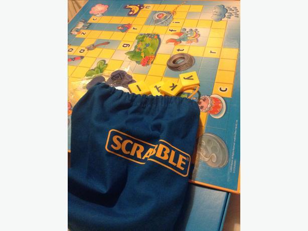 Junior Scrabble by Mattel VGC