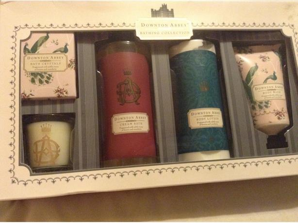 M&S Downton Abbey ~ Bathing Collection ~ Gift Set ~ New