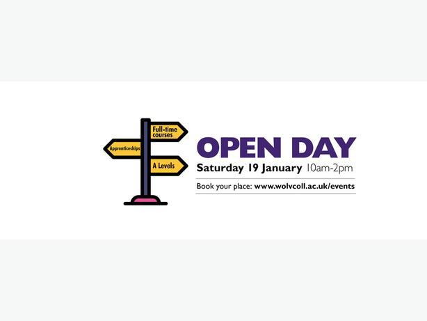 Open Day Sat 19 Jan 10am-2pm