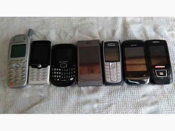 job lot mobile phones x7