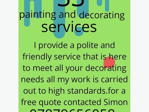 ss painting and decorating services