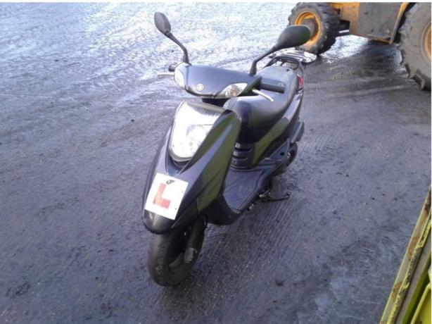 2012 Yamaha xc 125cc moped
