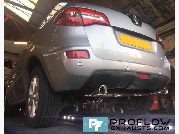 Proflow Exhausts Resonator and Muffler Delete with Dual Exit