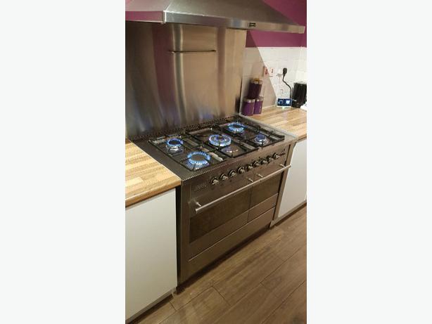 tecnik range cooker dual fuel 100cm Willenhall, Wolverhampton