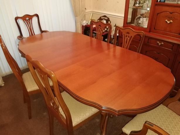 Furniture Village Dining Suite Tipton Wolverhampton