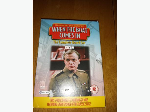 WHEN THE BOAT COMES IN-DVD BOXSET