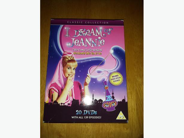I DREAM OF JEANNIE-DVD BOXSET