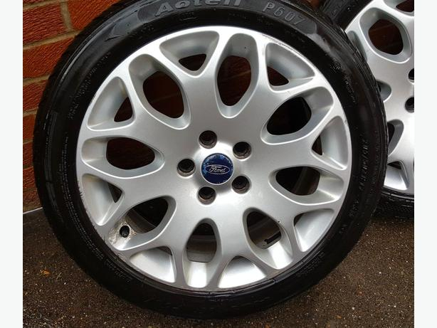 Log In Needed 250 Ford Focus Zetec Tyres And Alloys Set Of 4 250 Ono