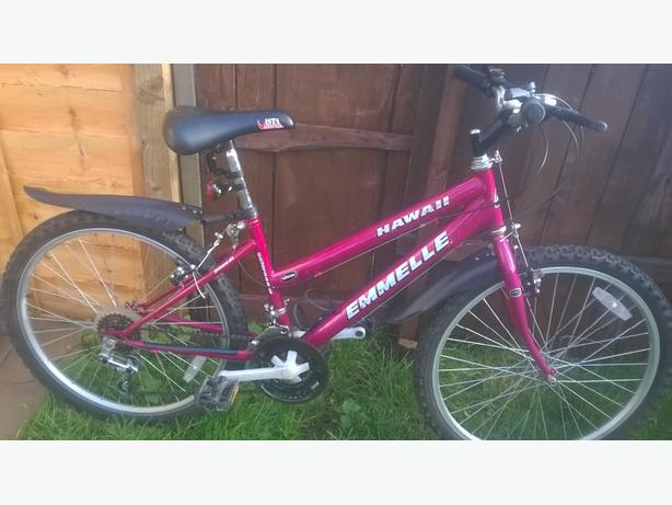 girls emmelle bike