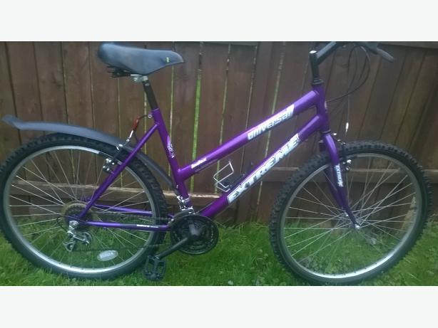 girls/ladies extreme mountain bike