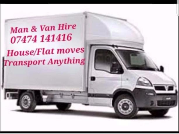 Man and Van for removals