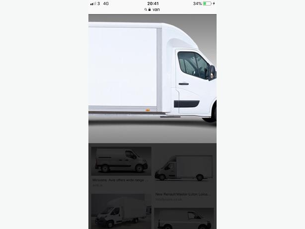 van hire man with van delivery service nearby