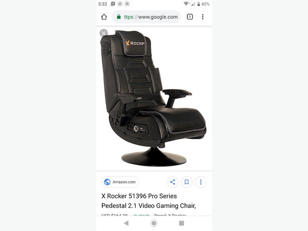 WANTED: pedestal gaming chair