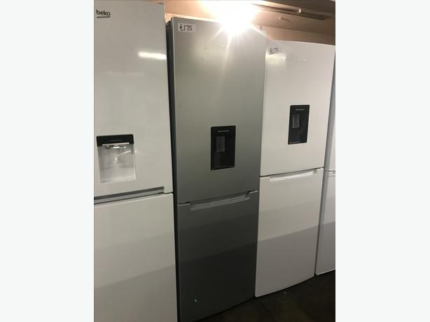 BEST QUALITY LOGIK SILVER NEW GRADED FRIDGE FREEZER