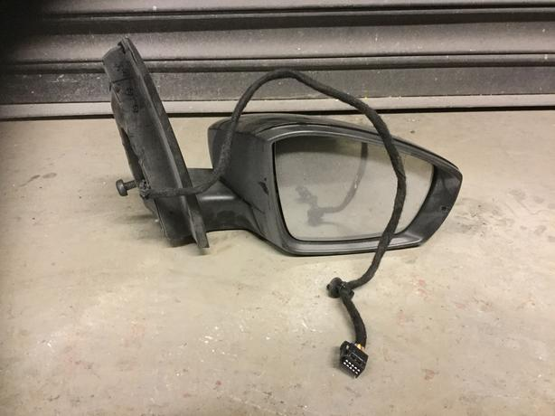 2014-2017 VW POLO 6C (MK5) OS DRIVER SIDE DOOR WING MIRROR BLACK