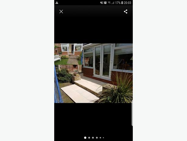 FOR TRADE: home and garden improvements, builder, bricklayer)