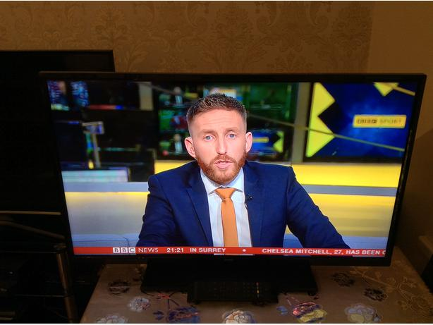40  INCH JMB  LED  TV HD READY FREEVIEW MODEL JTD139003B01 WITH REMOTE