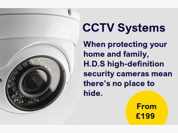 FULL HD CCTV 4 DOME CAMERAS FULLY INSTALLED WITH GUARANTEE