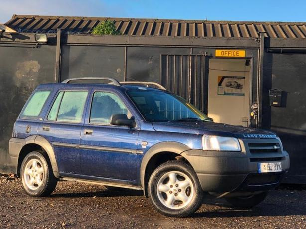 LAND ROVER FREELANDER 2L DIESEL AUTOMATIC AUTO 4X4