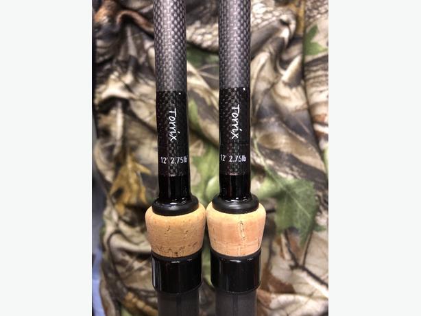 custom Carp/Pike rods x2