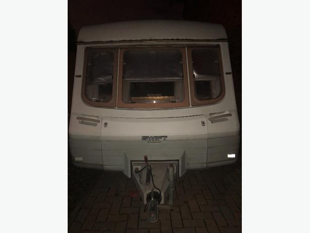 2 BERTH SWIFT CORNICHE CARAVAN
