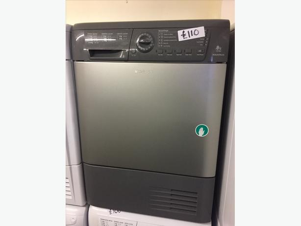 HOTPOINT 8KG TUMBLE DRYER WITH GUARANTEE