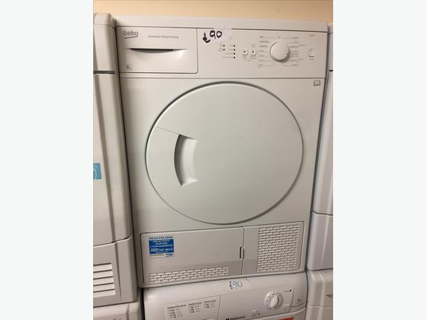 BEKO 6KG TUMBLE DRYER WITH GUARANTEE