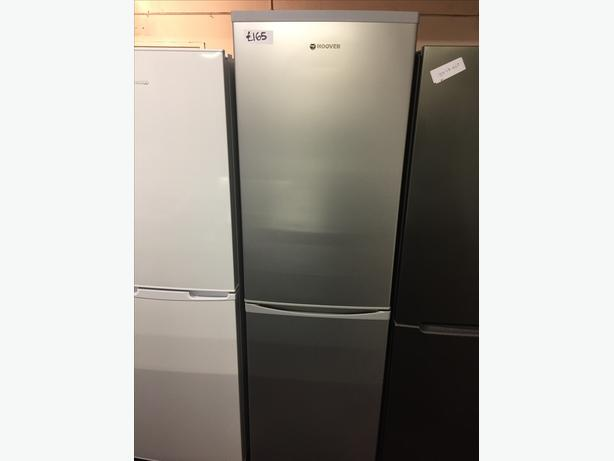 TALL HOOVER FRIDGE FREEZER WITH GUARANTEE