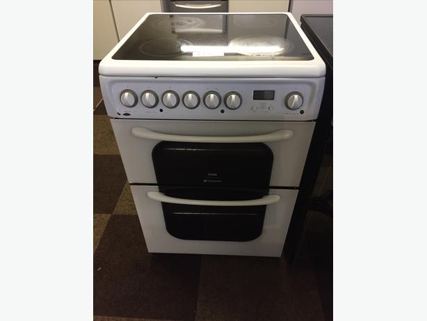 HOTPOINT 60CM ELECTRIC COOKER WITH GUARANTEE