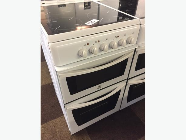 INDESIT 50CM ELECTRIC COOKER WITH GUARANTEE