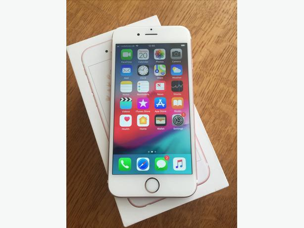 APPLE IPHONE 6S 32GB UNLOCKED ROSE GOLD BOXED G