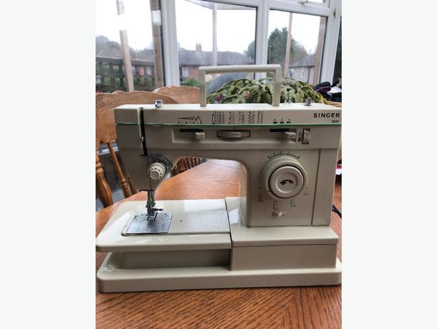 Vintage Singer Merritt 9612 Heavy Duty Sewing machine