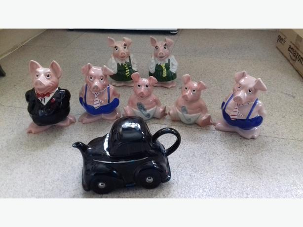natwest pigs and carlton wareteapot