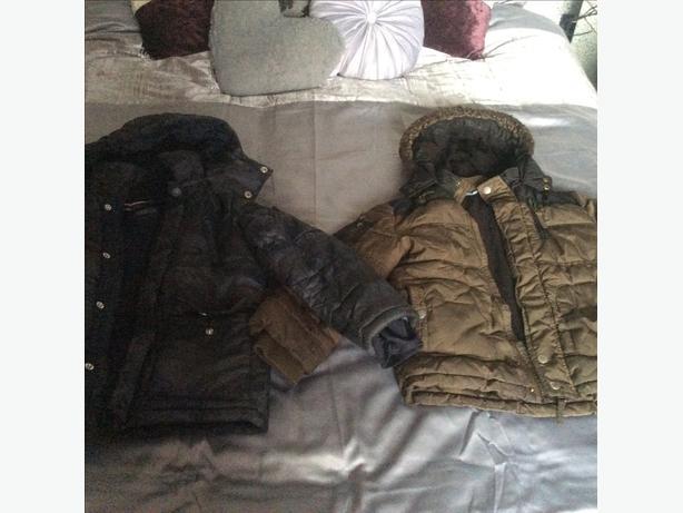 Next/George boys coats