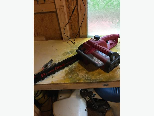 power devil chain saw
