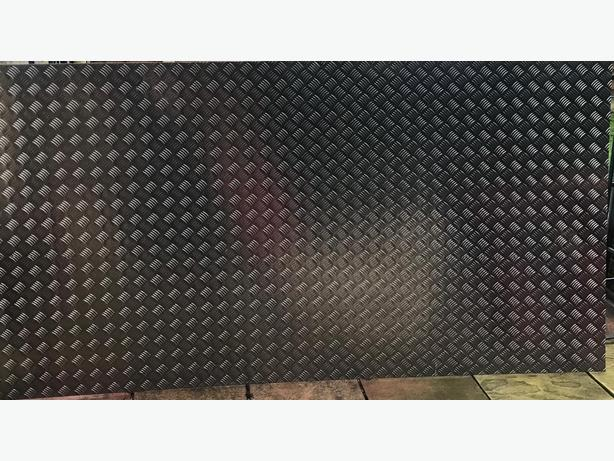 Aluminium checker sheets