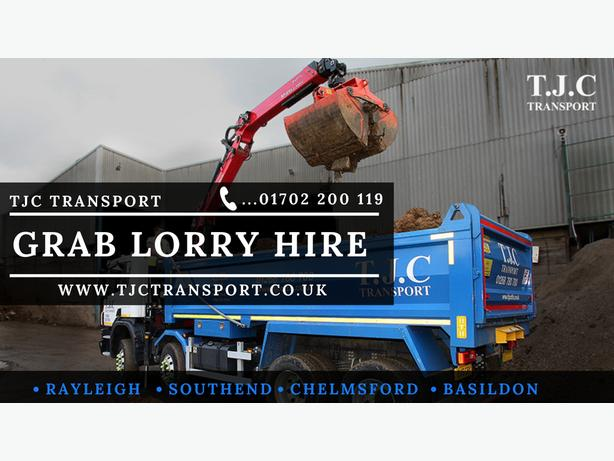 Grab hire in Essex - TJC Transport