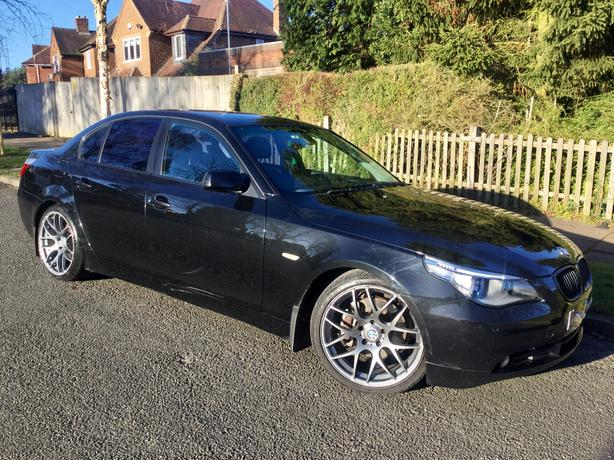 BMW 530i SE auto saloon - Sport looks & a real headturner !