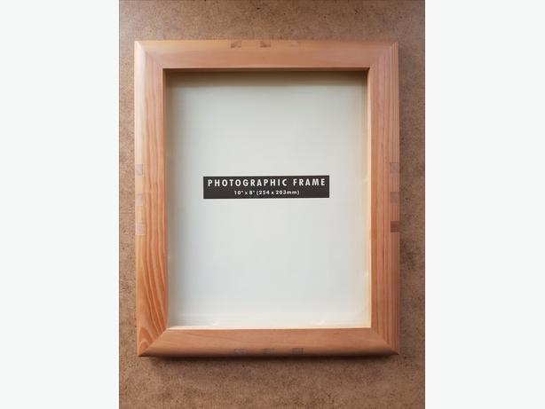 Wooden photo frame 10 x 8 inch