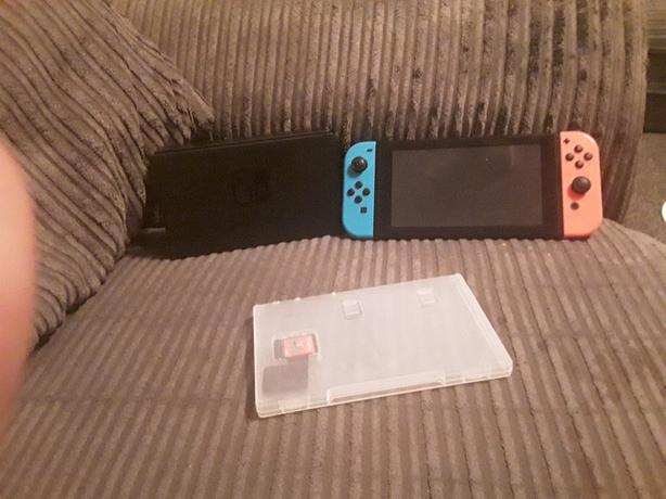 Nintendo switch 2 games no box