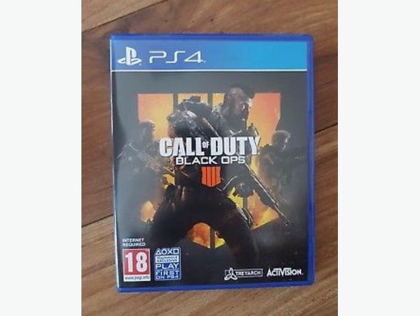 CALL OF DUTY BLACKOPS 4 PS4