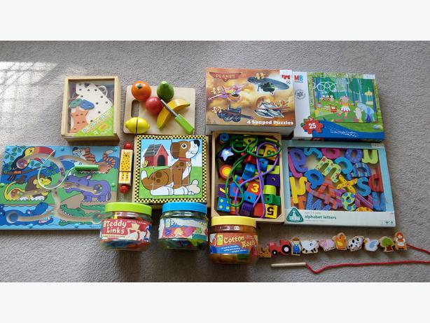 Melissa and Doug Toys and other threading games