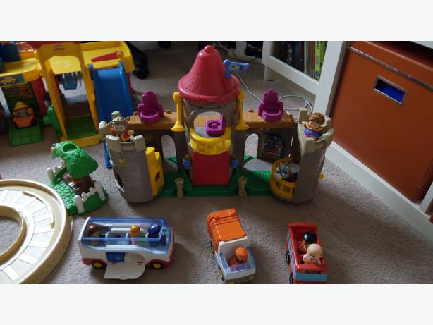 Fisher Price Little People and Playmobil Vehicles