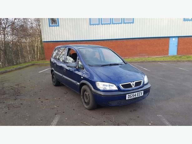Automatic Zafira 1.8  long mot, 7 seater, drives great