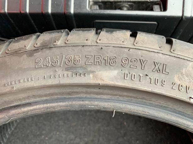 x2 245/35/18 Tyres accelera