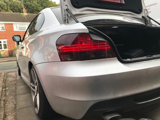 e82 coupe rear lights