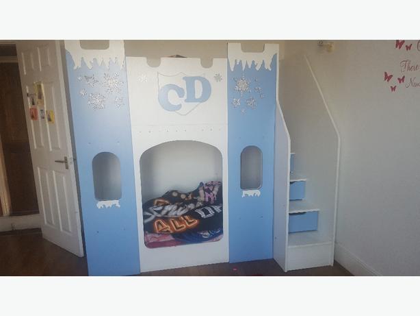 kids double sleeper bed