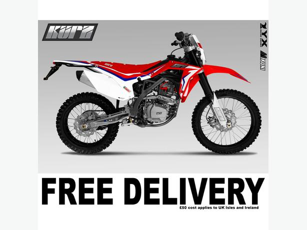 KURZ FS 250 - Pit Bike - Enduro - Road Legal - Motorcycle