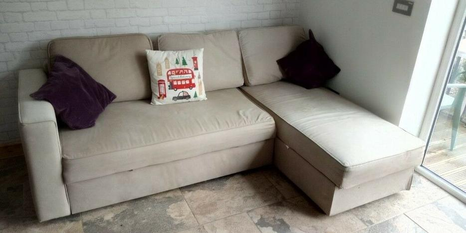 Corner pull out sofa bed IKEA corner sofa bed with storage ...